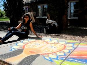 Chalk Walk, Los Almaos Arts Council